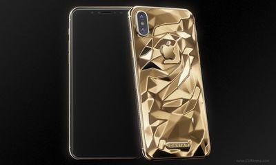 Cận cảnh iPhone X dát vàng giá gần 5000 USD