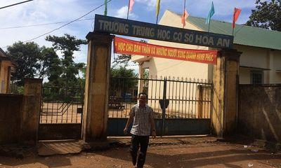 """Đắk Lắk: Một hiệu trưởng bị tố nhận 300 triệu đồng """"chạy"""" việc"""