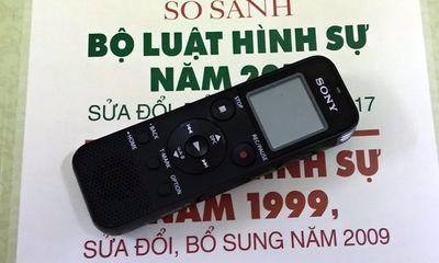 Từ hôm nay (18/3), khi hỏi cung bị can, bắt buộc phải ghi âm, ghi hình