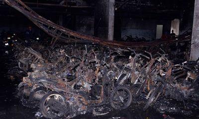 Khám nghiệm hiện trường vụ cháy chung cư Carina: Nhiều tình tiết gây sốc