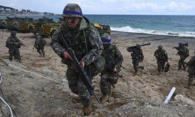Liên quân Mỹ - Hàn bắt đầu cuộc tập trận quy mô lớn