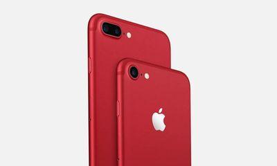 iPhone 7 RED giảm giá, iPhone X và iPhone 8 RED có thể ra mắt trong tháng 4