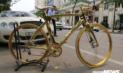 Chiếc xe đạp giá 1 tỷ đồng có gì đặc biệt hấp dẫn các đại gia?