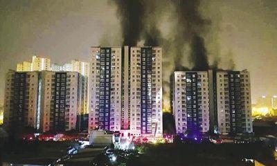 """Công ty 577 """"ôm mộng"""" lãi gấp ba sau vụ cháy chung cư Carina"""