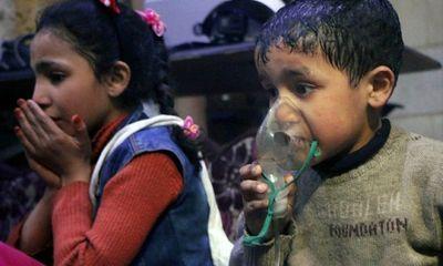 Những bức hình ám ảnh về vụ tấn công hóa học ở Syria
