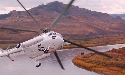 Trực thăng Mi-8 rơi ở Nga, không ai sống sót