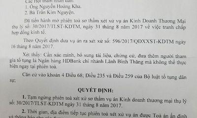 Vụ chủ đầu tư điện gió Bạc Liêu bị kiện vì không thanh toán nợ: Tòa triệu tập Ngân hàng