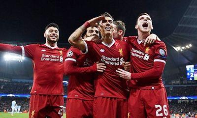 Man City 1-2 Liverpool: Thầy trò Klopp giành vé vào bán kết Champions League