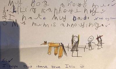 """Nguyên nhân không ai ngờ khiến cô bé 5 tuổi """"ghét cả nhà"""" trong bài tập làm văn"""