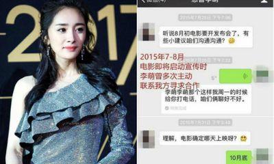 Hé lộ tình tiết bất ngờ trong scandal quỵt tiền của Dương Mịch