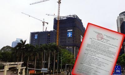 Những khuất tất tại dự án Oriental Plaza Láng Hạ