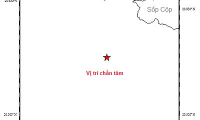 Động đất mạnh 3,7 độ Richter tại khu vực gần biên giới Việt-Lào