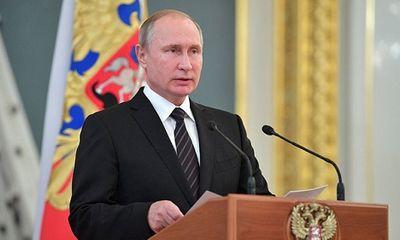 Truyền thông Nga công bố thu nhập của tổng thống Putin