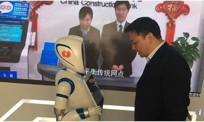 Ngạc nhiên với ngân hàng không nhân viên đầu tiên tại Trung Quốc