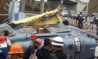 Trực thăng dân sự rơi ở Indonesia, một người tử vong