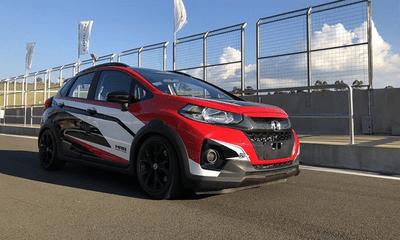 Cận cảnh Honda WR-V phiên bản đường đua siêu đẹp