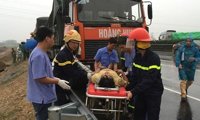 Tai nạn trên cao tốc, 3 người thương vong