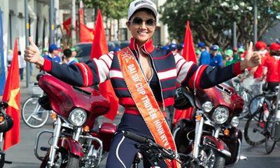 Hoa hậu H'Hen Niê hào hứng