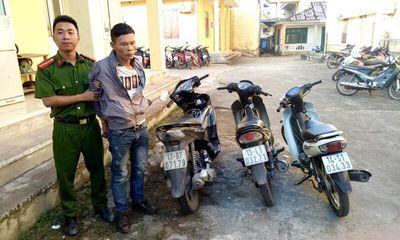 Bắt giữ đối tượng trộm xe máy của người dân đi lễ chùa