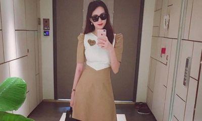 Hoa hậu Đặng Thu Thảo lần đầu tái xuất sau khi sinh con