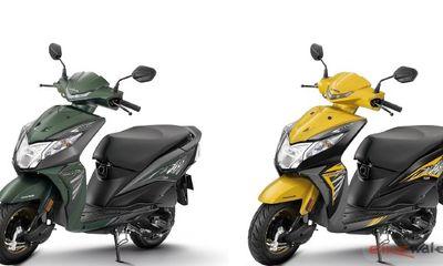 Cận cảnh Honda Dio 2018 phiên bản mới, giá chỉ 18 triệu đồng