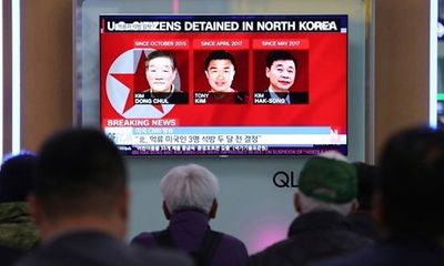 Triều Tiên thả 3 công dân Mỹ trước thềm hội nghị thượng đỉnh