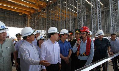Phó Thủ tướng Trịnh Đình Dũng kiểm tra Formosa trước khi vận hành lò cao số 2