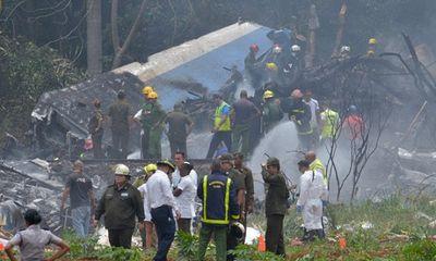 Thảm họa rơi máy bay tại Cuba, hơn 100 người thiệt mạng