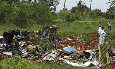 Cuba xác nhận 110 người thiệt mạng trong vụ rơi máy bay Boeing 737