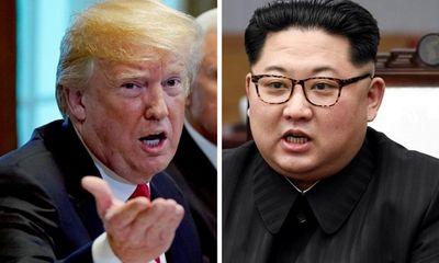 Tổng thống Trump tuyên bố hoãn hội nghị thượng đỉnh với Triều Tiên
