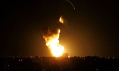 Israel tiếp tục không kích phía nam Dải Gaza
