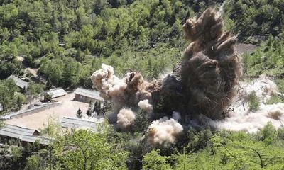 Phóng viên quốc tế chứng kiến Triều Tiên phá dỡ bãi thử hạt nhân nói gì?
