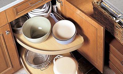 Nhà bếp tiện lợi hơn nhờ những ngăn tủ thông minh này