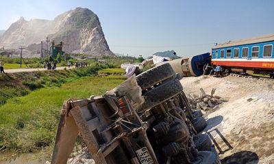 Xác định nguyên nhân ban đầu 2 vụ tai nạn đường sắt nghiêm trọng