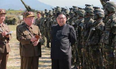 Triều Tiên tập trận quân sự trước thềm hội nghị thượng đỉnh với Mỹ