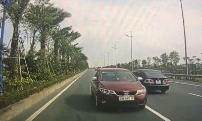 Video: Ô tô chạy ngược chiều vun vút trên đường Võ Nguyên Giáp