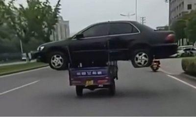 Video: Dùng xe ba bánh