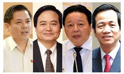 Hôm nay (4/6), Quốc hội bắt đầu chất vấn 4 Bộ trưởng