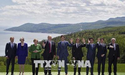 Hội nghị G7 ra tuyên bố chung về hàng loạt vấn đề cấp bách