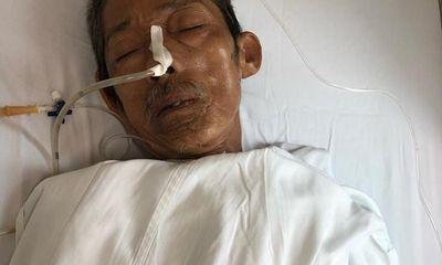 Tìm người nhà cụ ông bất tỉnh được cấp cứu tại BV Việt Đức