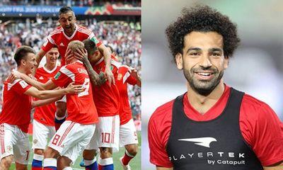 Tin tức World Cup 2018 ngày 15/6: Nga thắng lớn trận khai mạc, Salah kịp đá trận ra quân