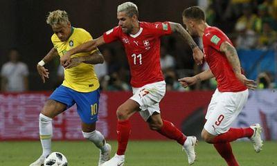 Brazil bị Thụy Sĩ cầm hòa ở trận ra quân World Cup