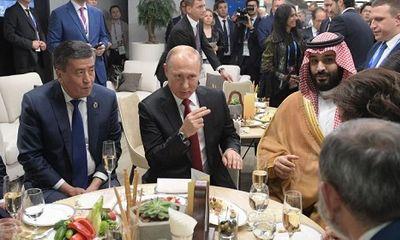 Tổng thống Putin ghi bàn thắng ngoại giao quan trọng trong kỳ World Cup