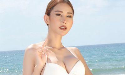 Chi Nguyễn khoe đường cong nóng bỏng với dàn thí sinh Miss Asia World 2018