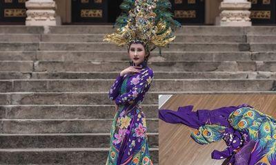 Đại diện Việt Nam tại Miss Asia World 2018 bị cắt nát trang phục trước thềm chung kết