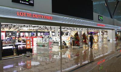 Khai trương Lotte Duty Free tại Sân bay Nha Trang