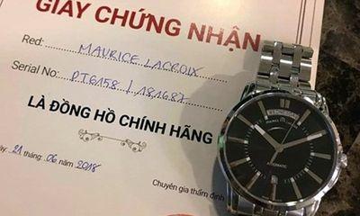 """Có """"giấy thông hành"""" cho đồng hồ giả?"""