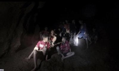 Kỳ diệu: Đội bóng Thái Lan mắc kẹt dưới hang đá đã được tìm thấy trong điều kiện sức khỏe tốt