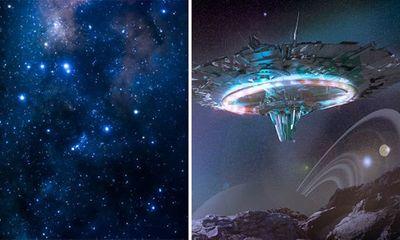 Lạ: Người ngoài hành tinh bị nghi thu thập những ngôi sao để chinh phục năng lượng tối