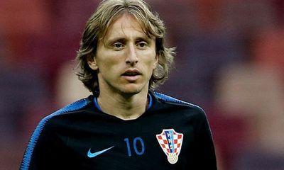 Thủ lĩnh Croatia Luka Modric phải đối mặt với bản án 5 năm tù sau World Cup 2018